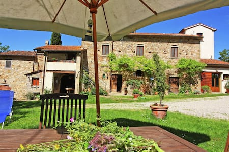 Holiday Home in Anghiari with Garden, Parking, Barbecue