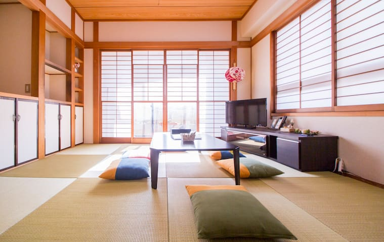 Cozy, Sunny Apt. Walkable to Ikebukuro Sta. - Toshima-ku - Apartment