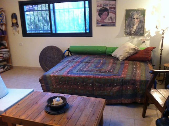 Comfy studio w huge balcony  - Hod HaSharon - Appartamento