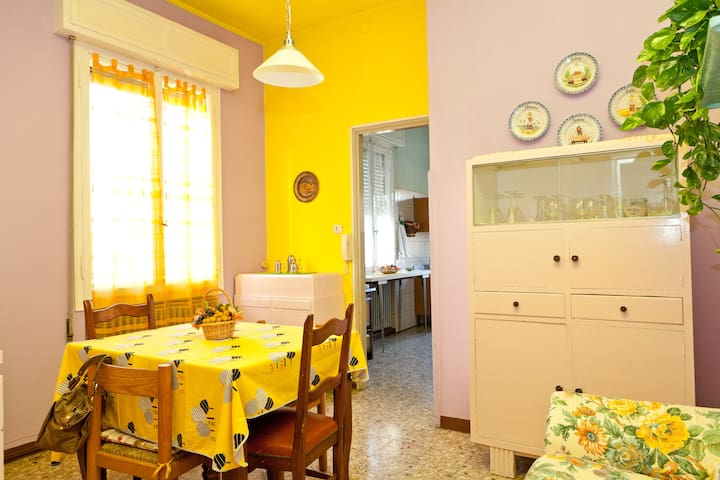 Bright spacious apartment - Mirandola - Rumah