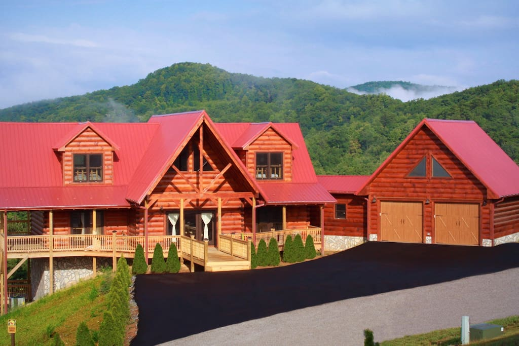 Blue Ridge Mountain Log Cabin Cabins For Rent In Dobson