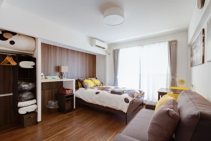 Cozy Apart at Kyoto Ctr.1MIN->#DD3 - Kyōto-shi - Apartment