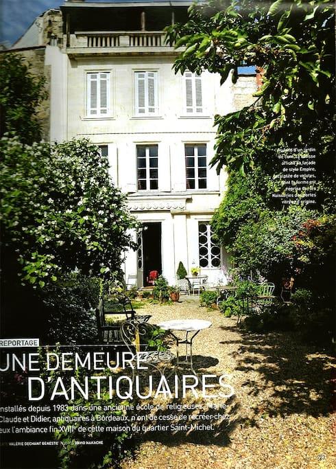 H tel particulier marengo bordeaux maisons louer for Hotel original bordeaux