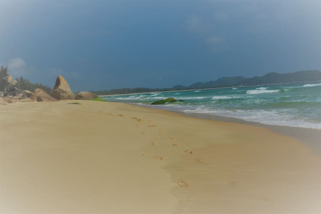 10 Kilometer langer Sandstrand
