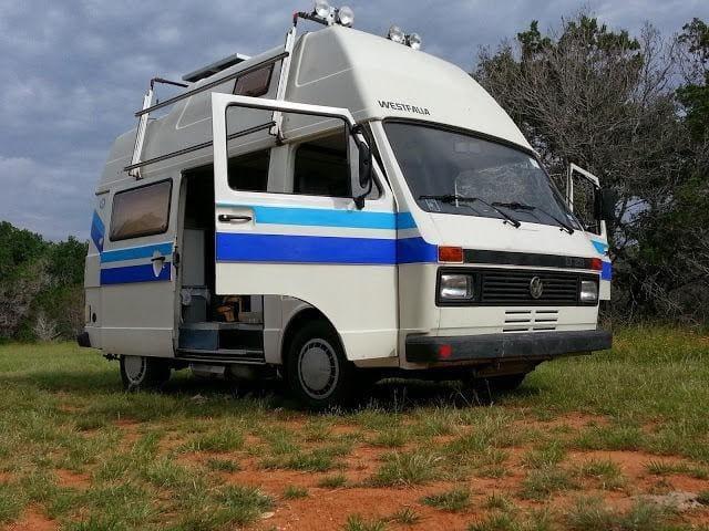 1988 VW LT28 Sven Hedin Vintage FULL Camper Rental