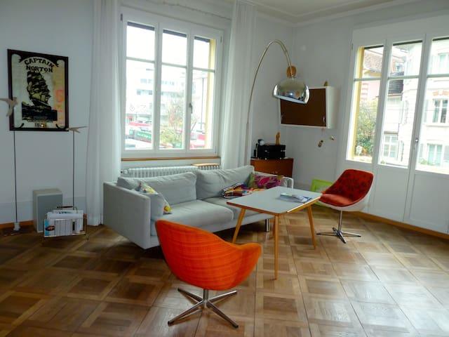 Spacious Art Nouveau Apartment Bern - Berne - Apartment