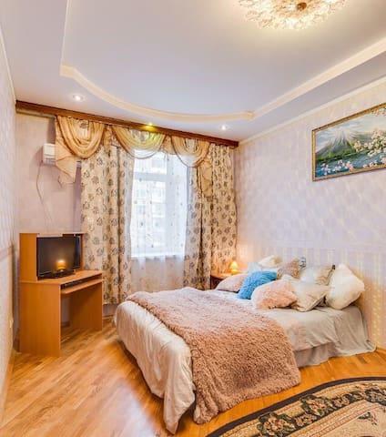 Красивая квартира недалеко от центра у метро - Moskva - Apartemen