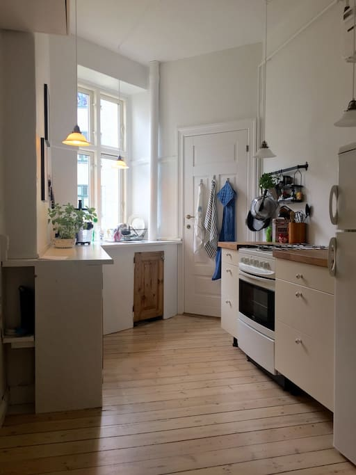 A nice kitchen with everything you need :-)