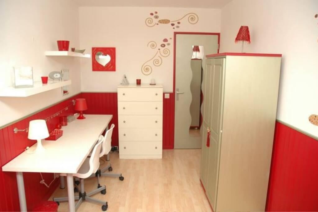 Chambre 3 - 2 lits d'une personne