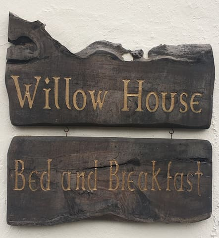 Willow House bed and breakfast.