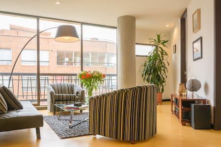 Brand New 1BR Apt Chapinero Alto - (Wi-Fi) - Bogotá - Apartmen