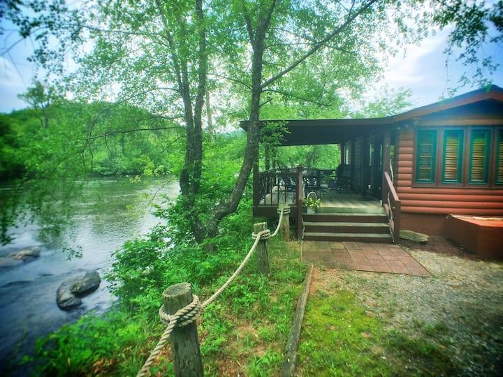#4 - Rocky River Cabin - Asheville River Cabins