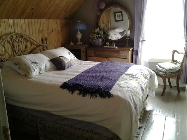 The Lavender Room at FarmLife Studio and B&B