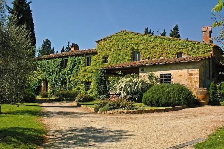Elegant apartments& pool in Chianti - Barberino Val d'Elsa - Wohnung