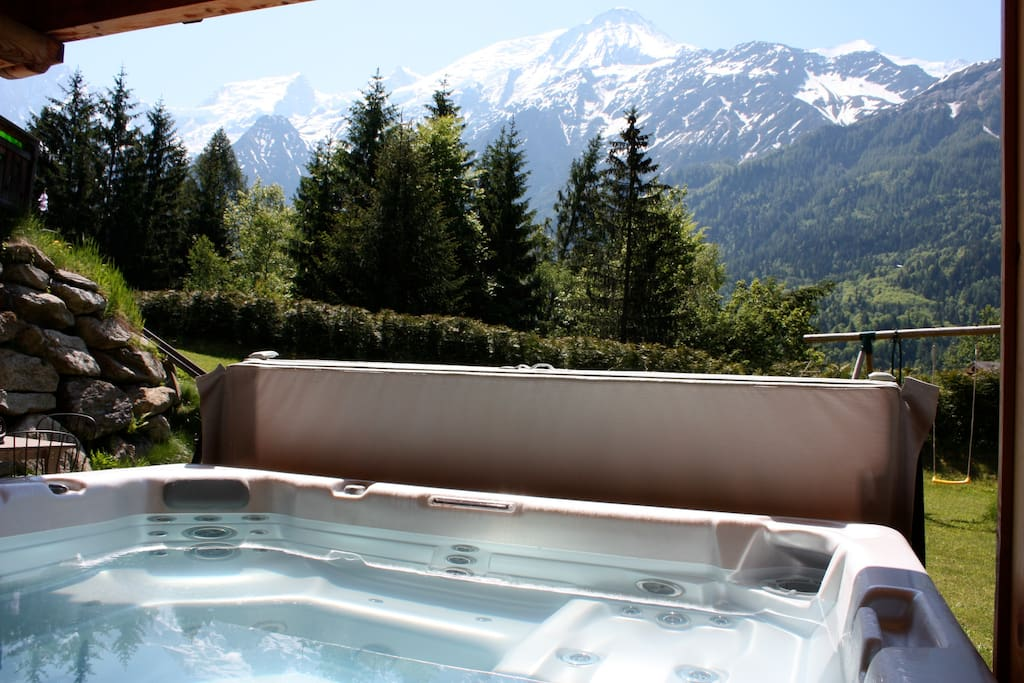 Appartement ensoleill avec jacuzzi apartments for rent in les houches - Installation jacuzzi appartement ...