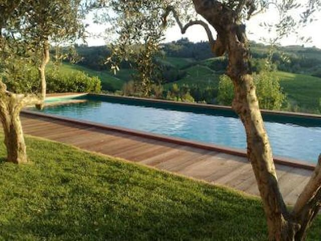 Charming house, private pool, in a biodynamic farm