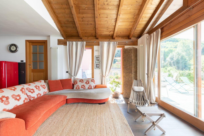 Salotto Villa Silvi