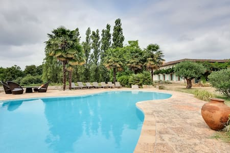 Large property near Bordeaux with full privacy - Périssac - Villa