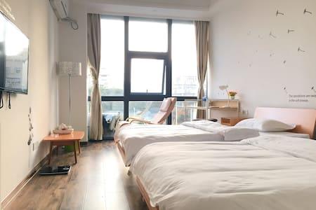 全景落地窗朝南房 - Xiamen - Apartament
