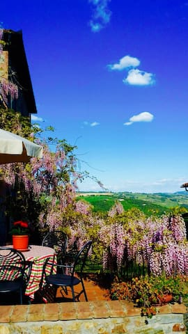 Tuscany farmhouse flat Valentina - Pomarance - Appartement