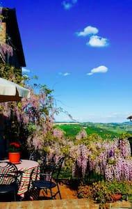 Tuscany farmhouse flat Valentina - Pomarance - Apartamento