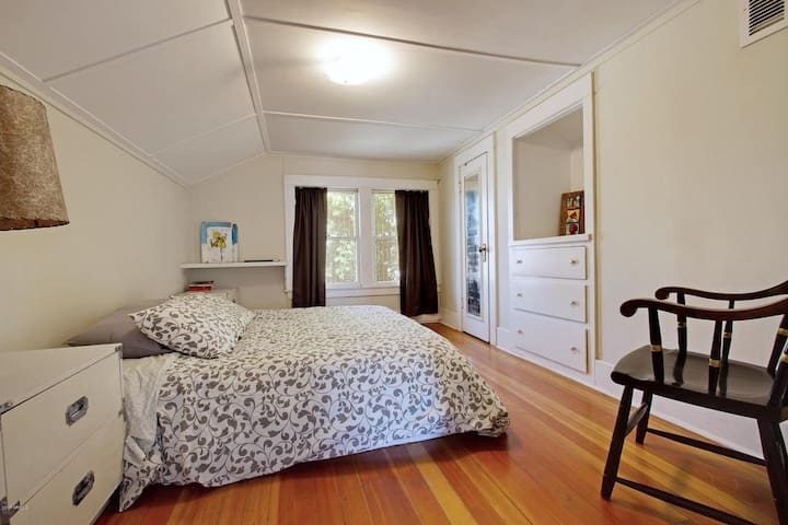 Upstairs Master bedroom with private bath