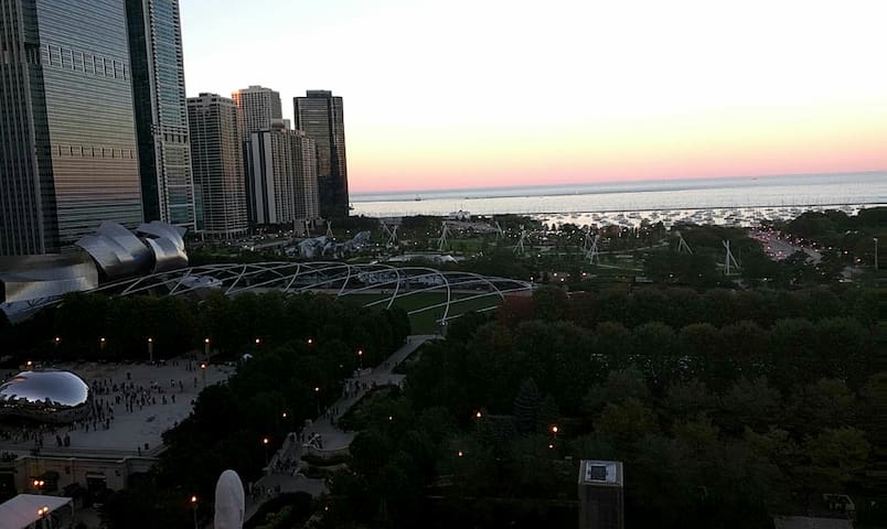 Private bed/bath next to Millennium Park! - Chicago - Apartamento