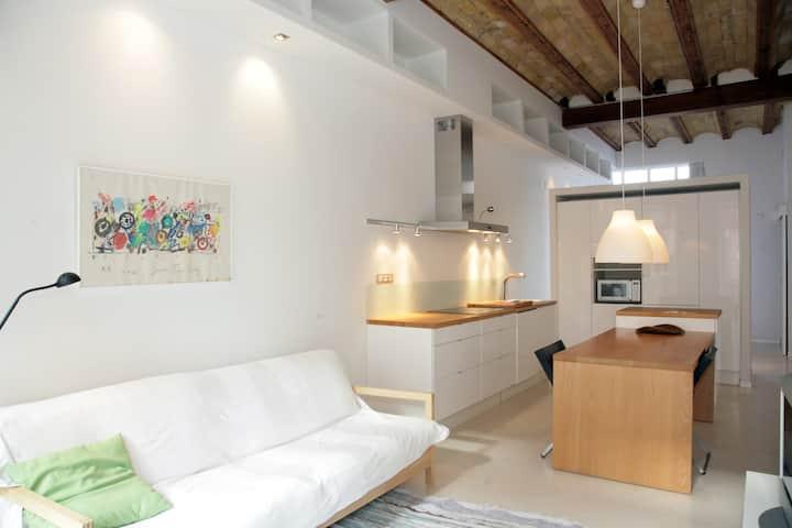 Design apartment in the center WIFI