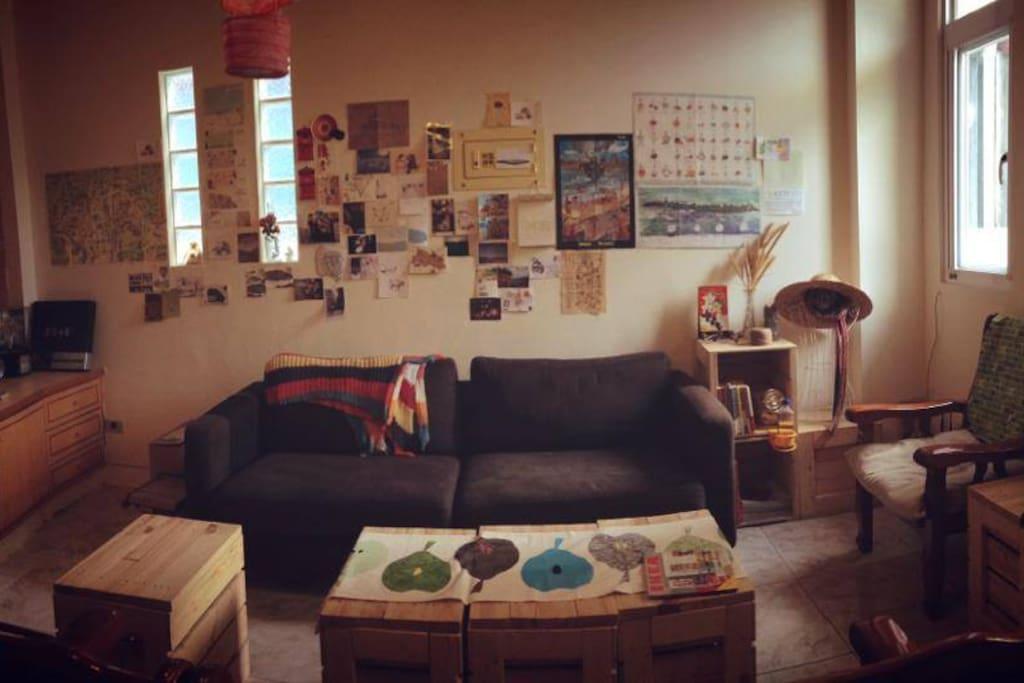 書房兼開放式客廳