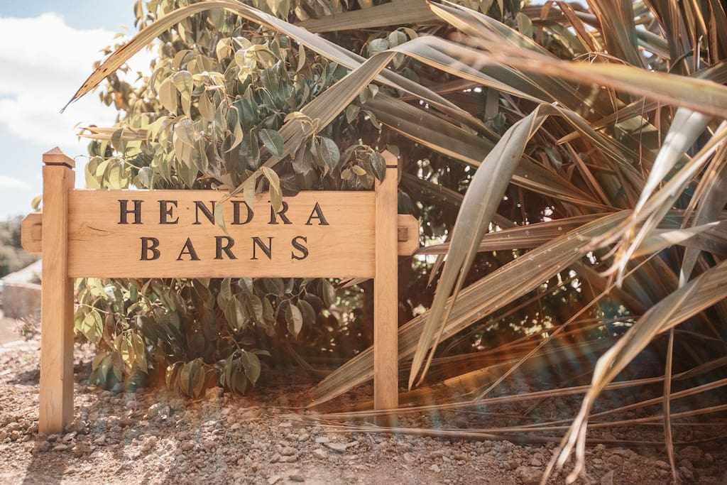 Hendra Barns is an exclusive resort of three former barn properties, all converted by the owner, a skilled carpenter.