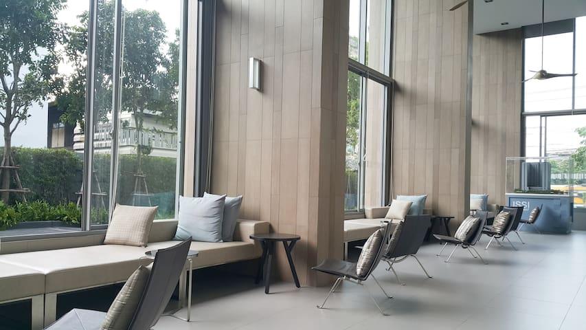 1BR Modern & Simple Condominium - 曼谷 - 客房