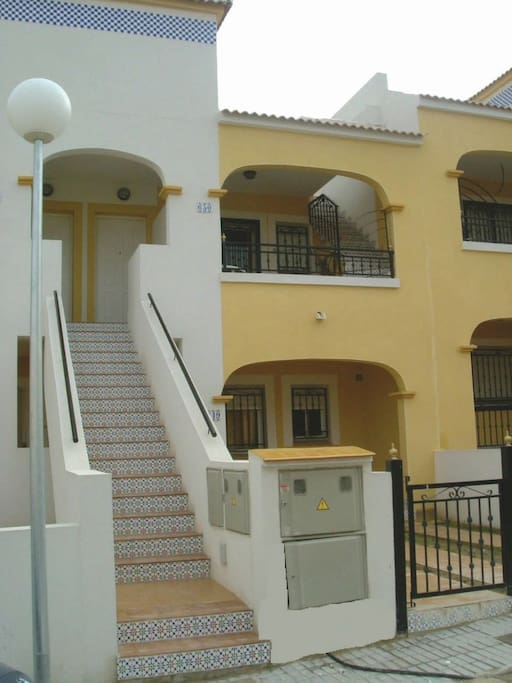 Front view of 2nd floor apartment