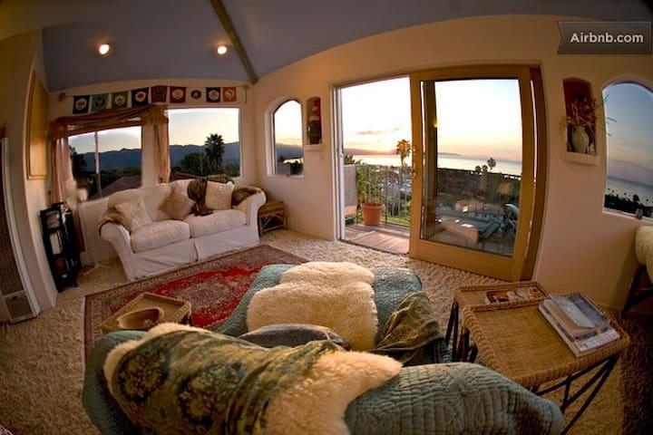 Cielo Suite, Beach, Romantic, Views - Santa Barbara - Bed & Breakfast