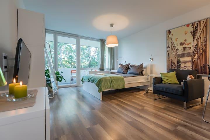 Comfortable Studio Fürstenfeldbrück near Munich - Fürstenfeldbruck - Apartamento