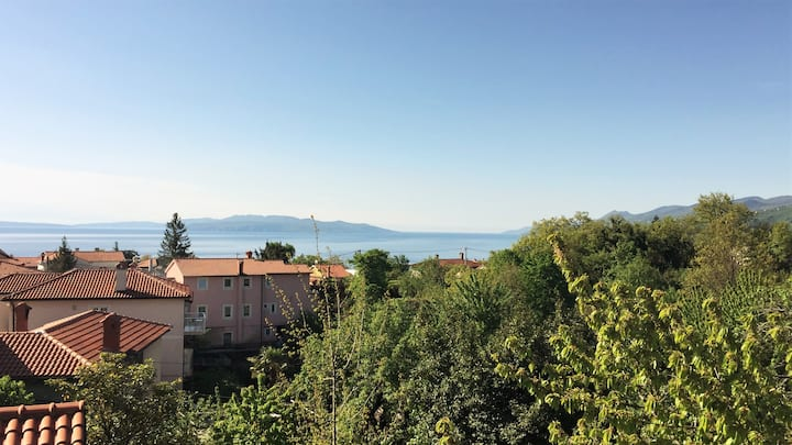 A spacious and sunny apartment 2km from Opatija!