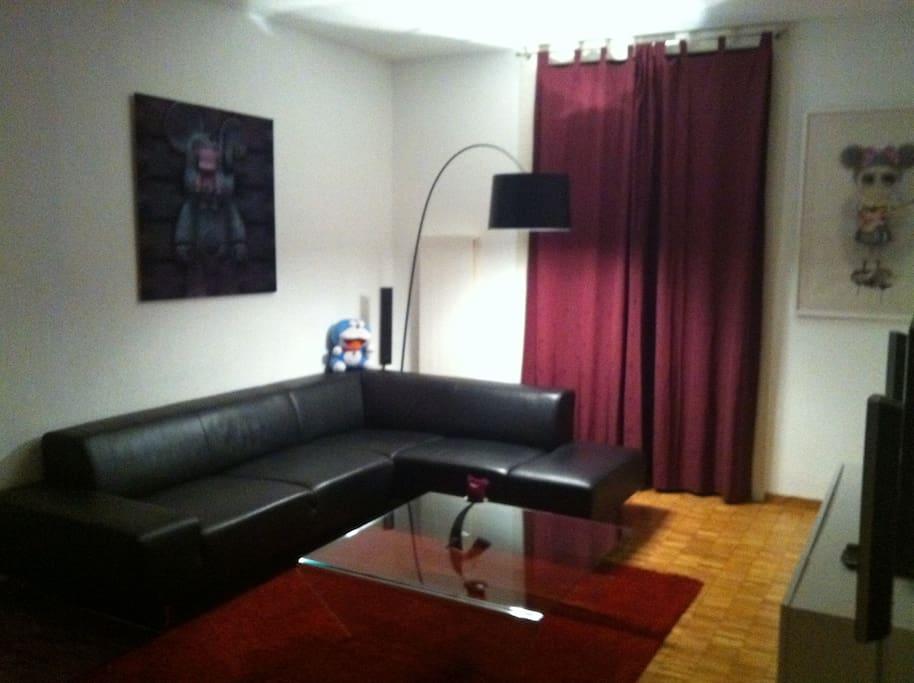 Living Room (night pic)