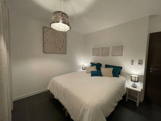 Chambre avec lit double ou deux lits simples