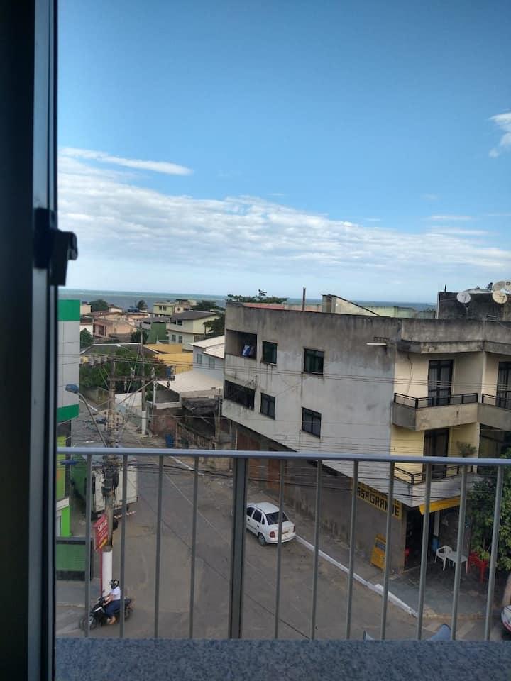 Apartamento vista pro mar