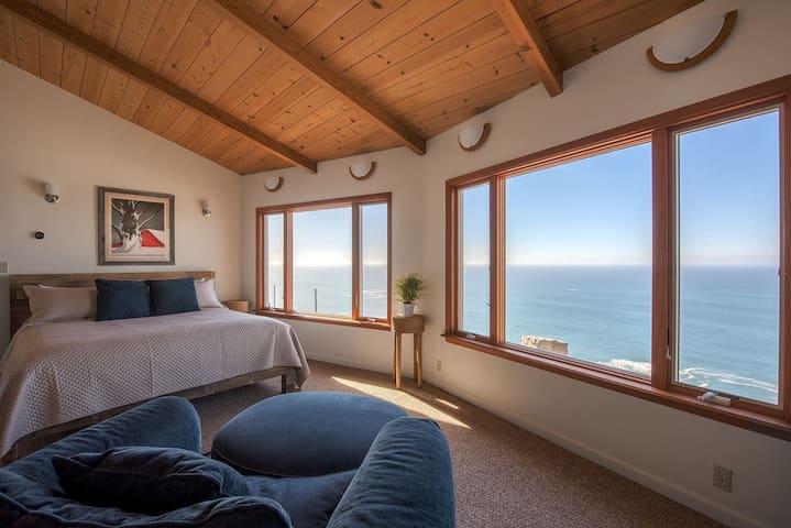 Master Bedroom Facing Southwest