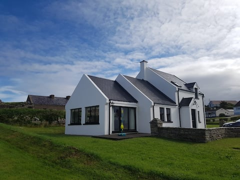 Cruit Island view house