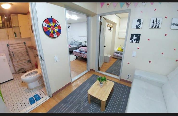 3Rooms+2Toilet Whole House~:)집전체 - Bupyeong-gu - Casa