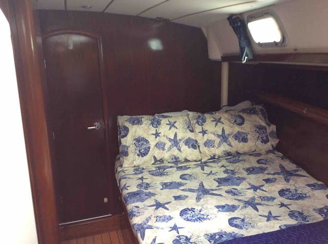 Cabin 3 Accommodation. On 50ft Yacht.