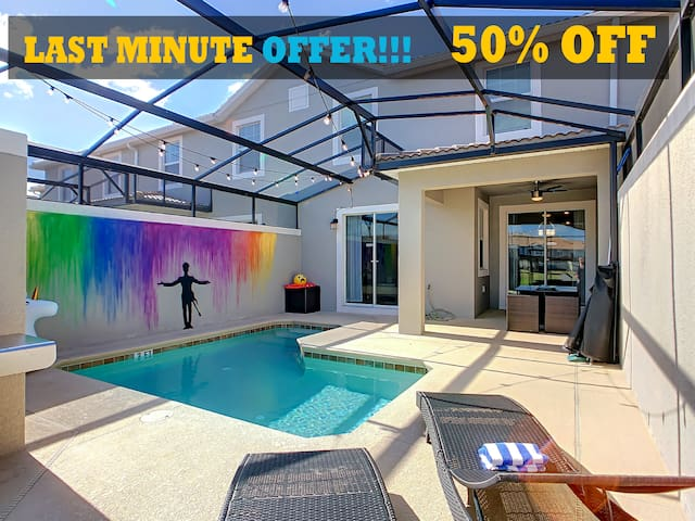 LAST MINUTE OFFER - Townhome: Private Pool, BBQ,TV's, Walking Trails
