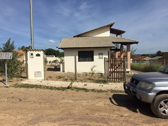 Chale charmoso, com vista para o Pouso Alto - Alto Paraíso de Goiás - House
