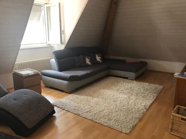 1 private bedroom meters away from the Lake of Zug