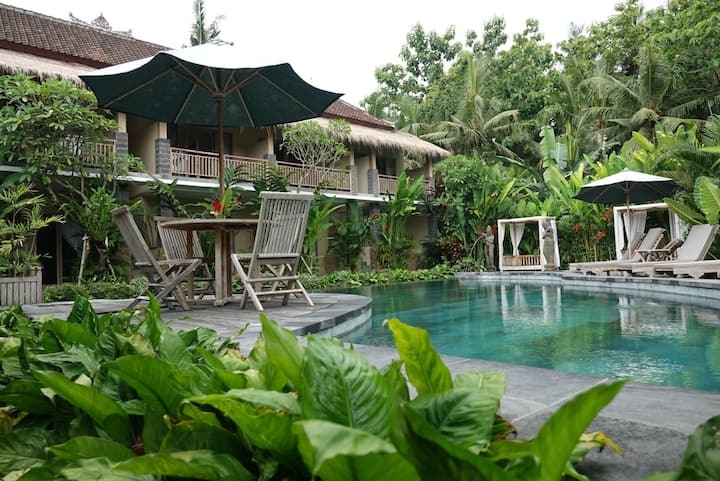 Ubud pool villa (1-20bedroom suite resort)