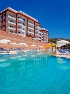 Квартира с видом на море в роскошной резиденции - Αλάνια