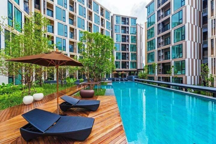 Luxury Two Bedroom / Pool View / Phuket Town #U116