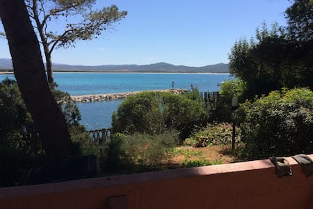 HISTORICAL VILLA 10 MT FROM THE SEA - Porto Pino