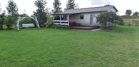 Domek holenderski w Camp Park Mazury
